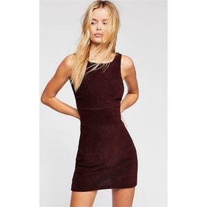 Free People Vivian Corduroy Mini Dress